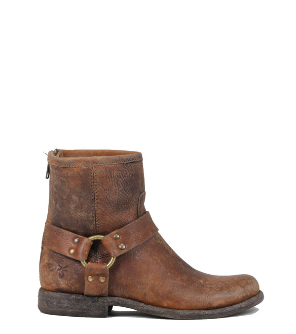 Frye Phillip Harness cognac