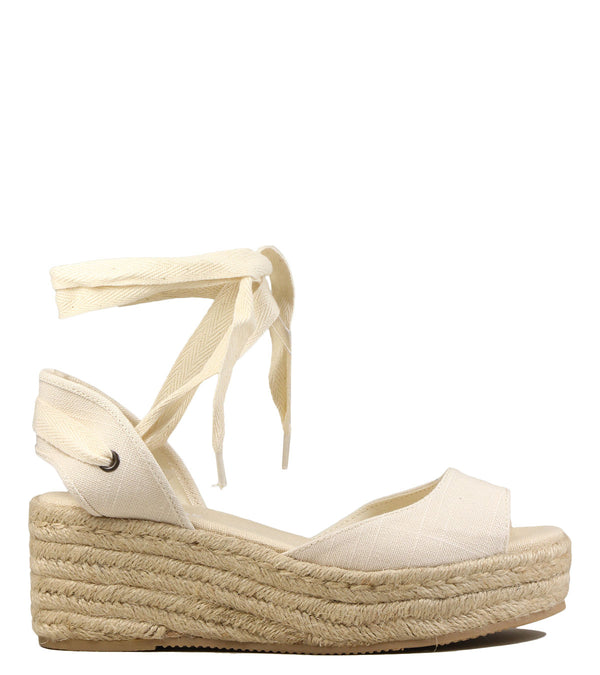 Soludos Open Toe Platform Blush