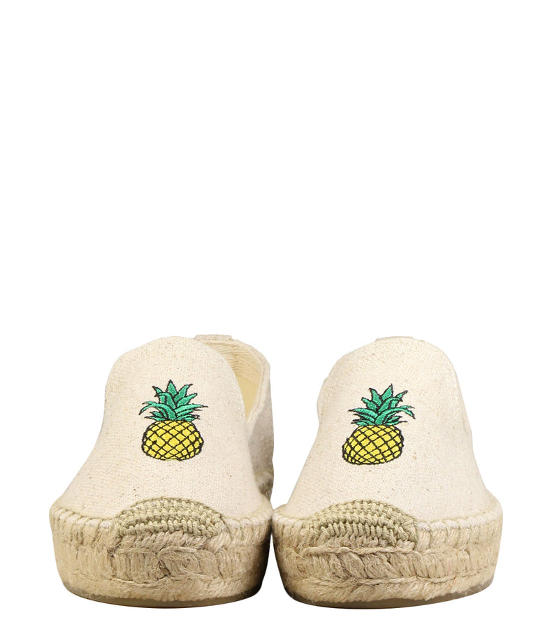 Slippers corde imprimé ananas Soludos Pineapple Slipper