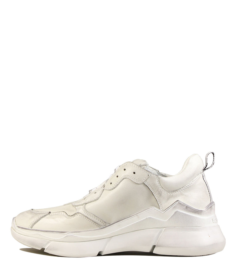Sneakers forme running Elena Iachi E1820 Old Off White