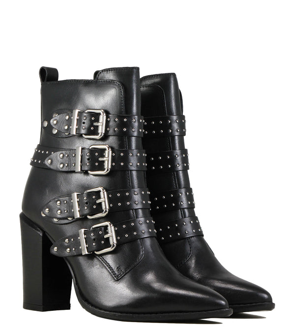 Bronx Americana x Black Leather