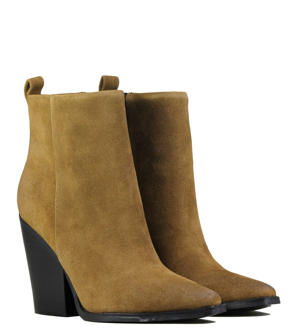 Boots western Kendall + Kylie Clive Brown Suede