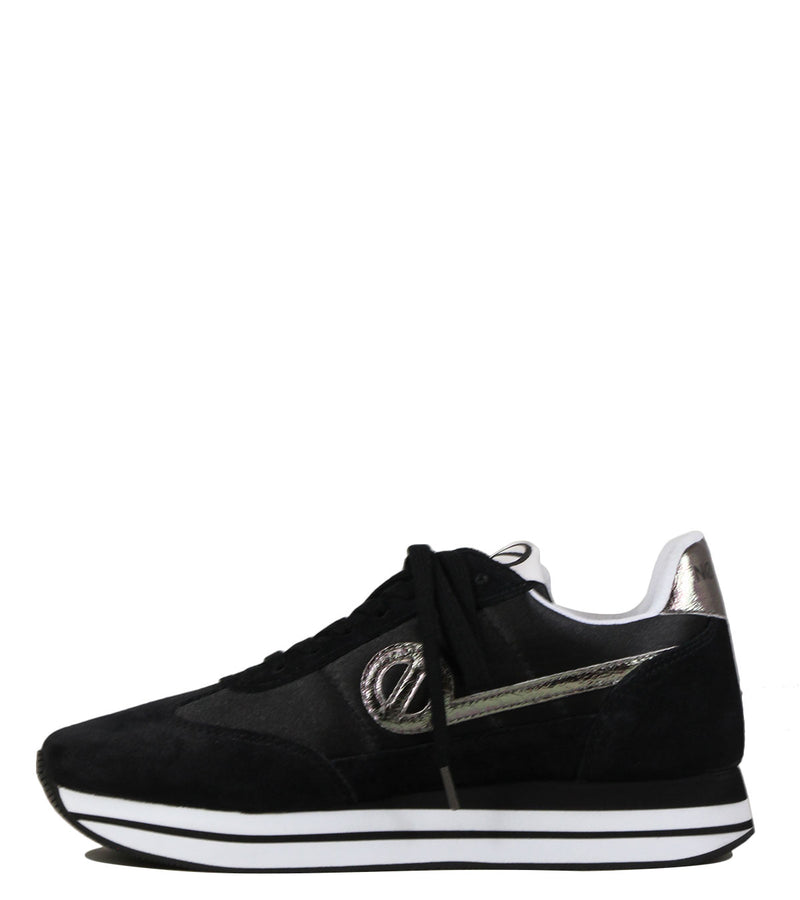 Baskets No Name Eden Jogger Beam Suede Black