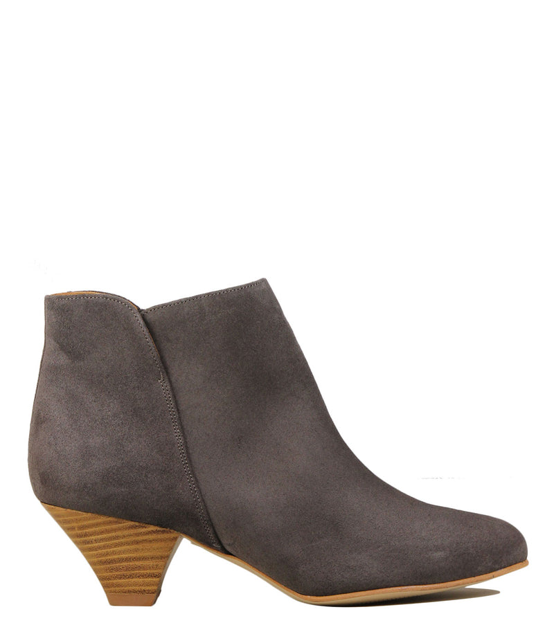 Boots à petit talon Sessun You Boots Plum Grey