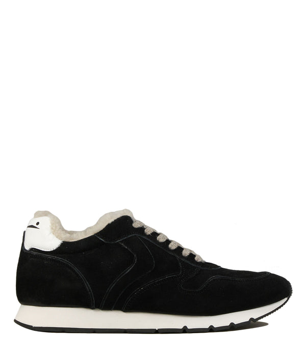 Sneakers fourrées Voile Blanche Liam Hairy Suede