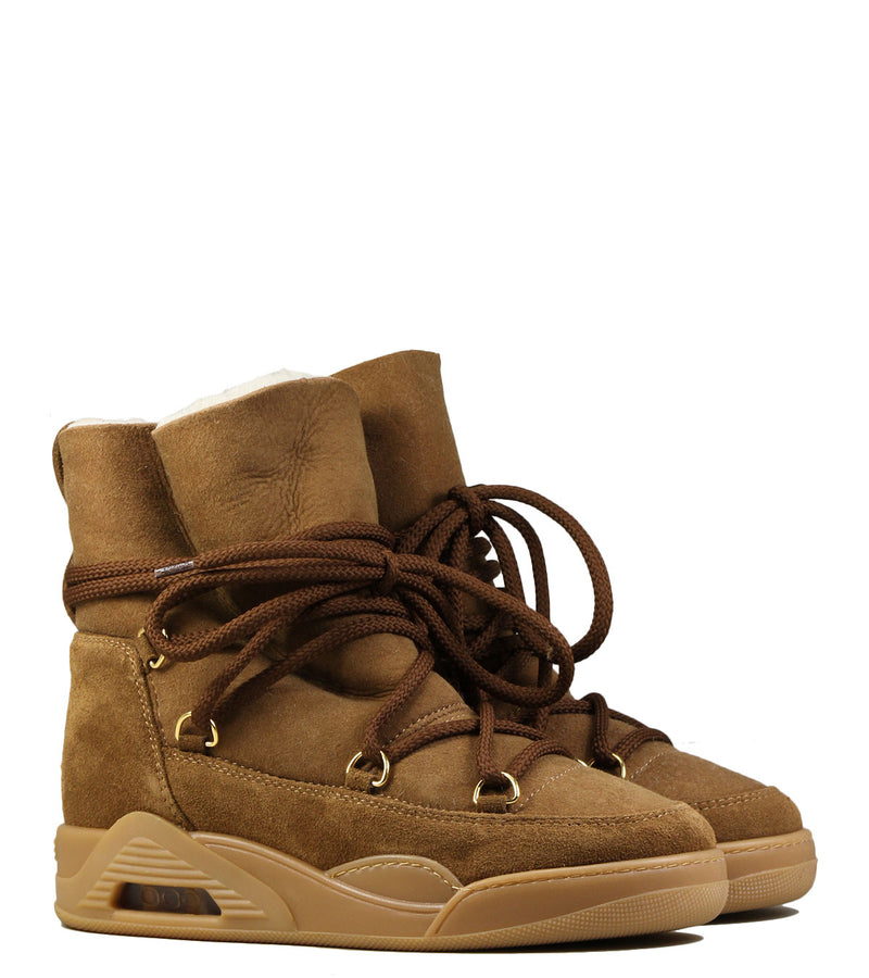 Moon boots compensées Serafini Moon Zv Tobacco