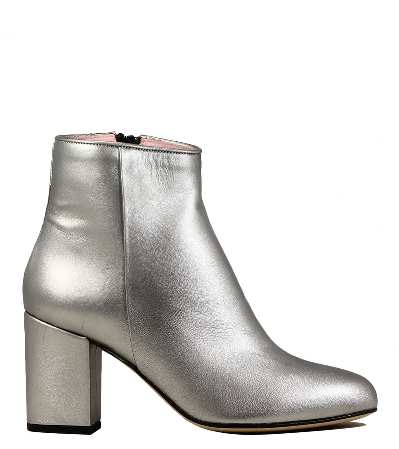 Boots argent Coralie Masson Nathaly Galaxy Argent