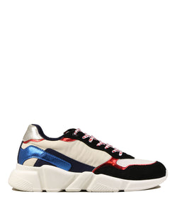 Serafini Oregon White Blue Red