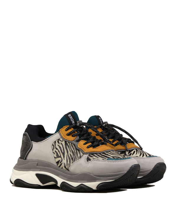 Bronx Baisley Light Grey Zebra