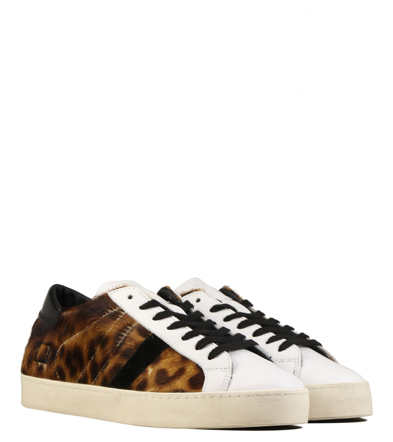 D.A.T.E Hill Low Pony Leopard