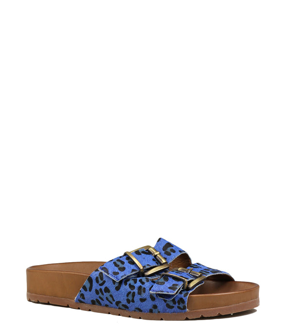 Inuovo 5135 Royal Blue Leopard