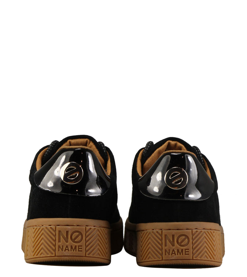 No Name Ginger Sneaker Suede Black