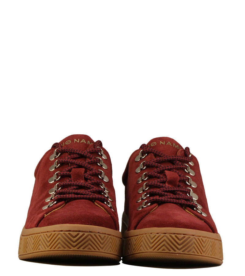 Sneakers montagne No Name Ginger Sneaker Suede Rust