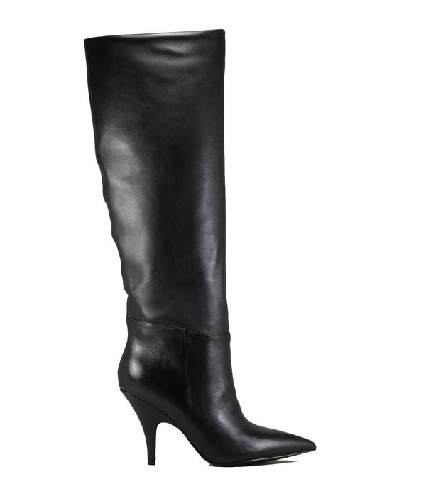 Bottes à talon fin Kendall + Kylie Carla Black Leather