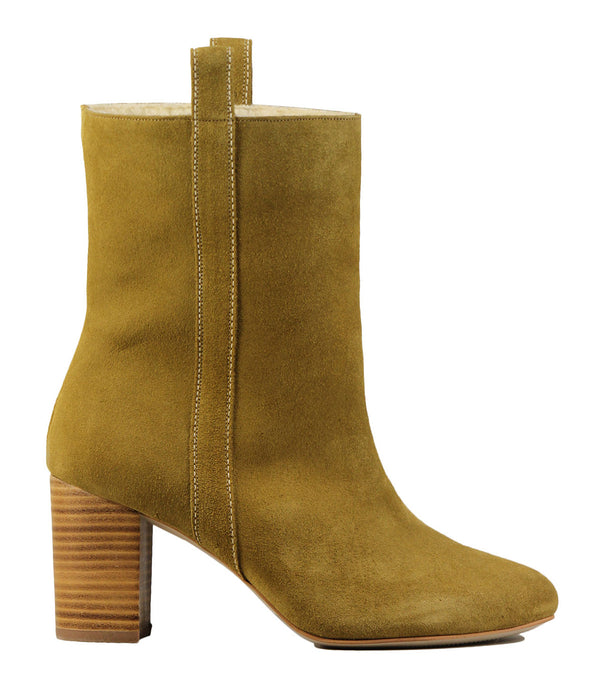 Sessun Pampita Gold Suede