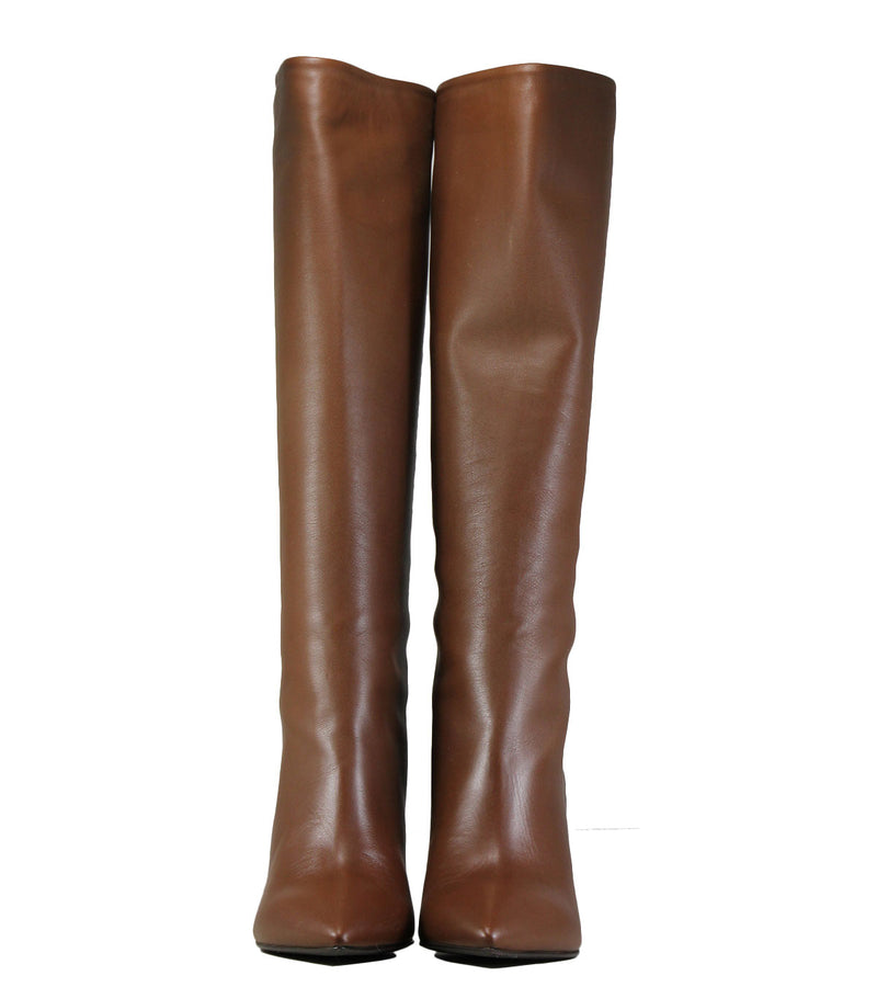 Bottes en cuir marron The Seller S8144 Nappa Cuoio