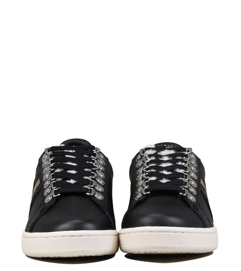 Baskets fourrées Serafini Connors 06 Black & Shearling