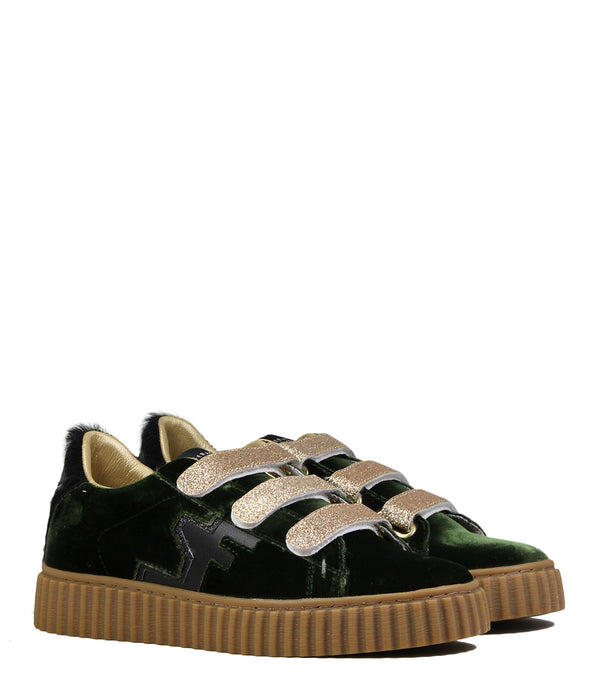 Baskets plateau Serafini Madison 04 Green Velvet