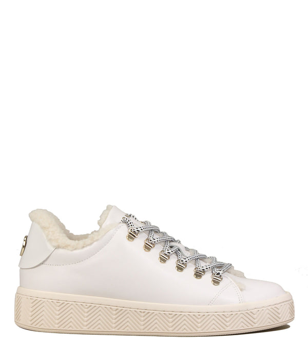No Name Ginger Sneaker Fur White
