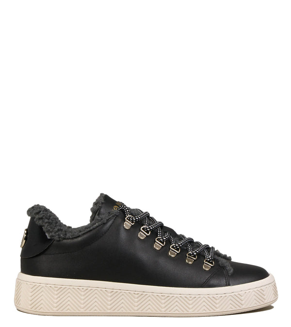 No Name Ginger Sneaker Fur Black