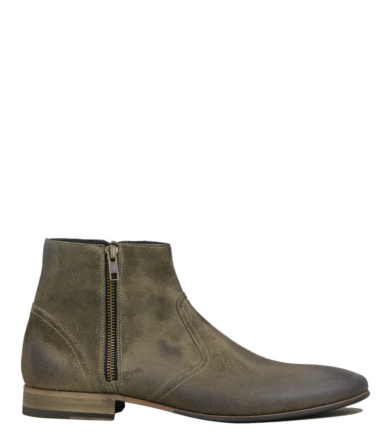 Boots en cuir taupe Sorensen Hurricane Low Ashes