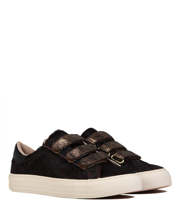 No Name Arcade Straps Zoo Burgundy