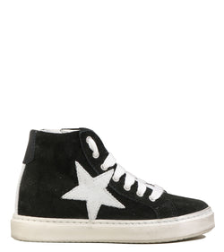 Sneakers enfant Basalt Snik High Kids Nero Grigio