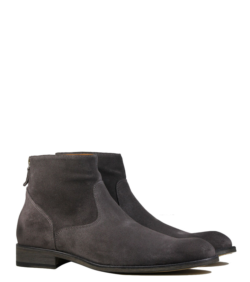 Boots en daim gris Anthology Paris 6834 Daim Anthracite