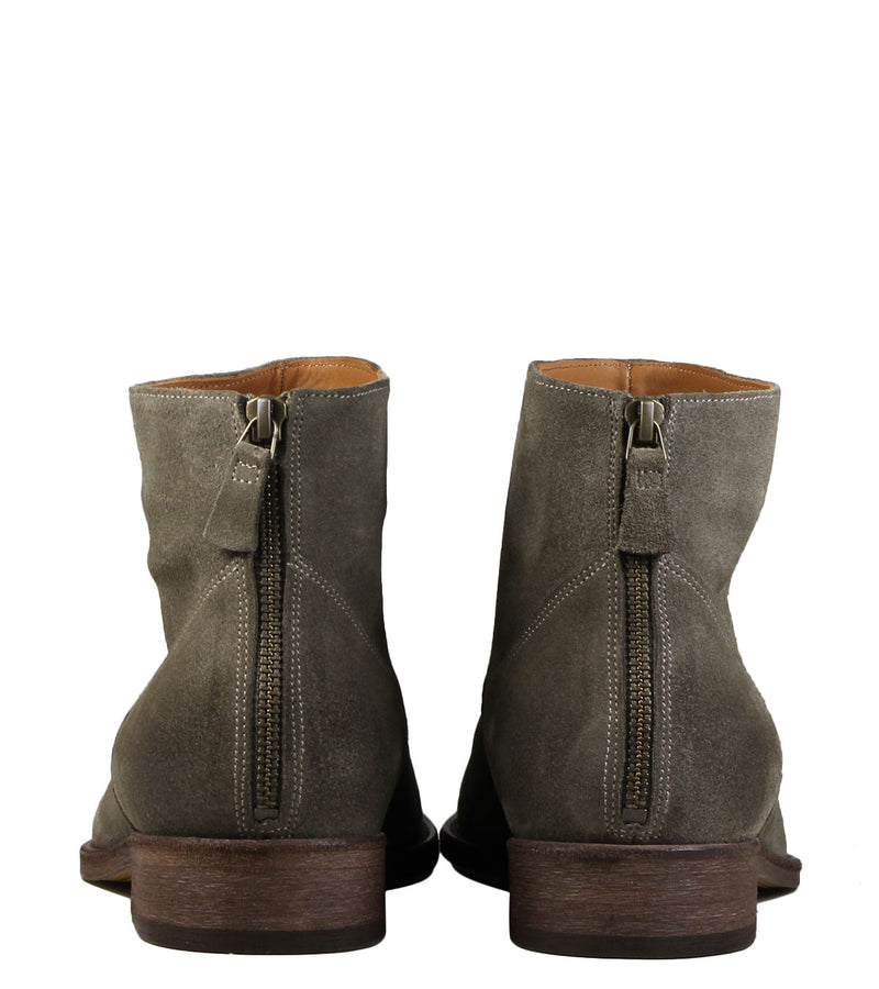 Boots en daim taupe Anthology Paris 6834 Daim Caribou