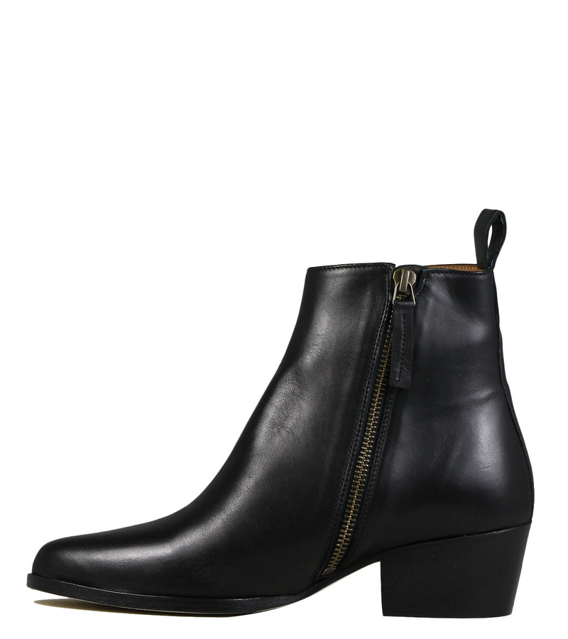 Boots western Anthology Paris Tennessee Cuir Noir
