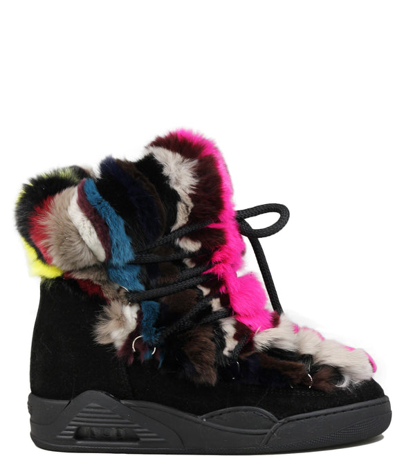 Moon-boots Serafini Moon Multicolor Mink Fur
