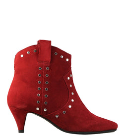 Boots western rouge Bronx 34011 Red