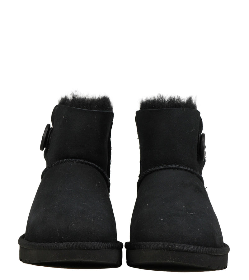 UGG Mini Bailey Button Black
