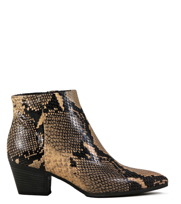 Boots pointues Fiorifrancesi 19002 Print Animalier Naturel