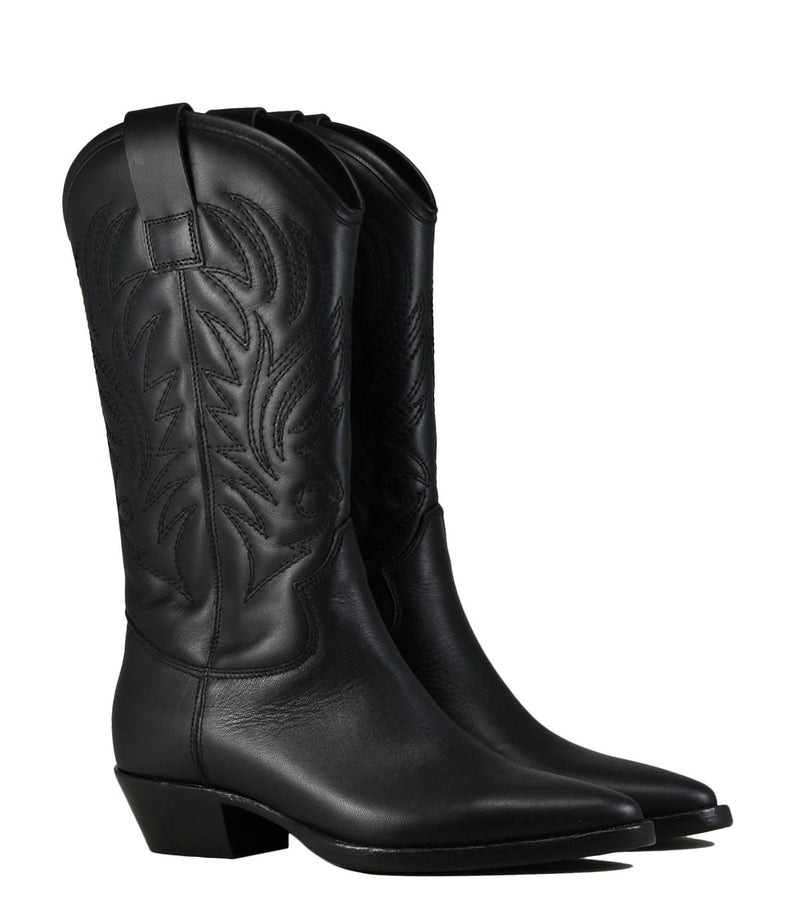 Boots western Lemare 1686 Nappa Nero