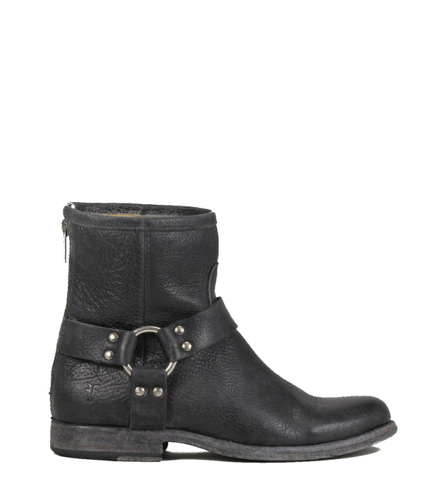 Frye Phillip Harness Black