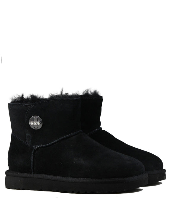 Boots fourrées mouton UGG Mini Turnlock Bling