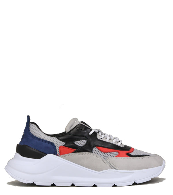 Sneakers off white D.A.T.E Fuga Nabuk Gray Orange