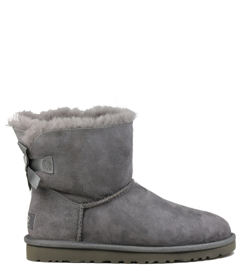 Boots UGG Mini Bailey Bow Grey