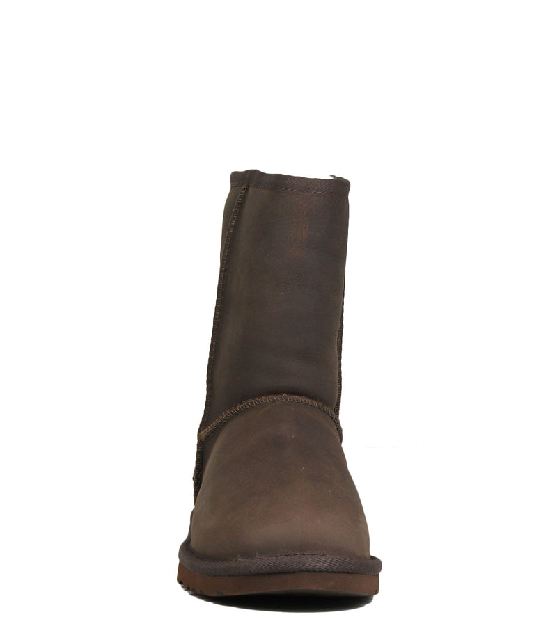 UGG Classic Short Leather Brownstone