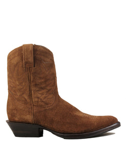 Boots western Ash Teddy Suede Sigaro
