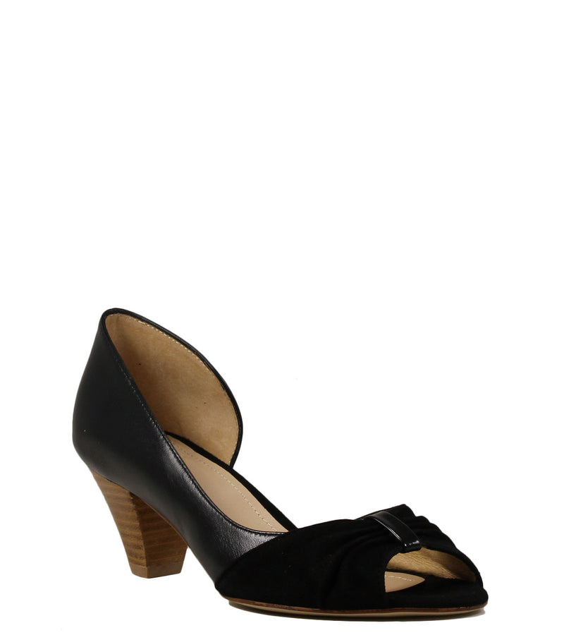 Escarpins Schmoove Héroïne Eclipse Open Toe Black