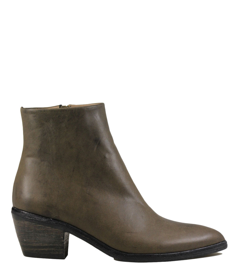Boots The Last Conspiracy Mae Mat Leather Grey