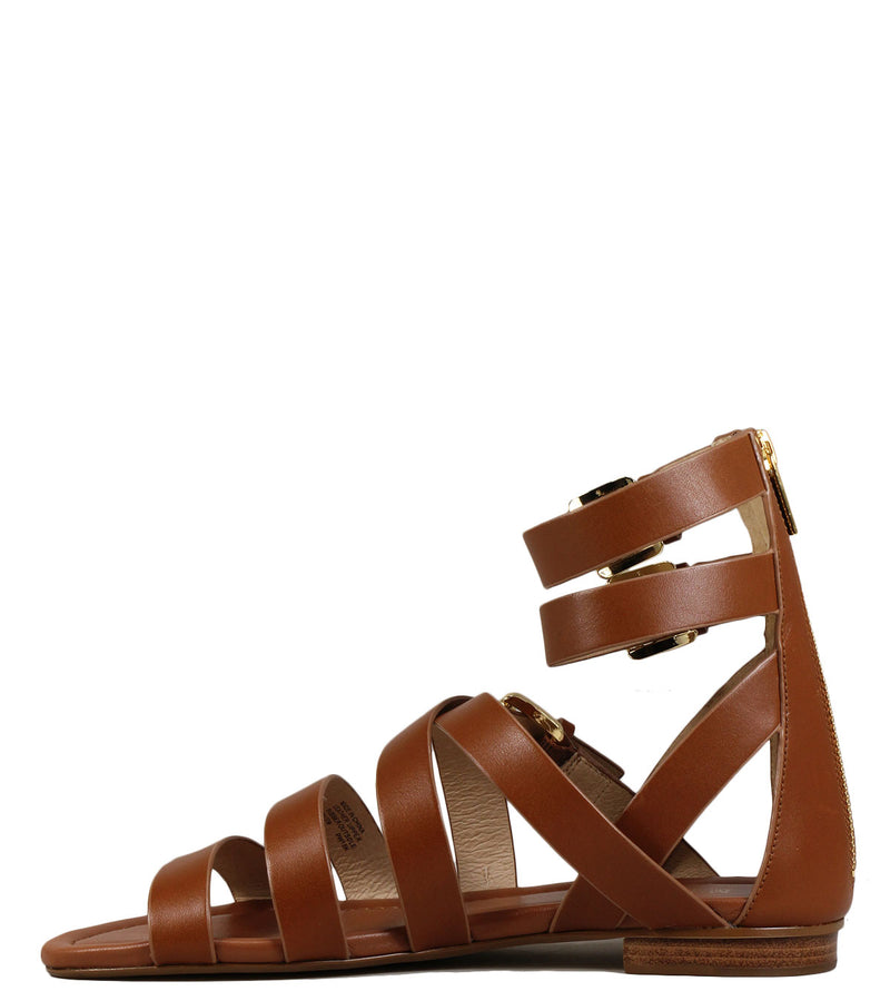 Michael Kors Jocelyn Flat Sandal Luggage