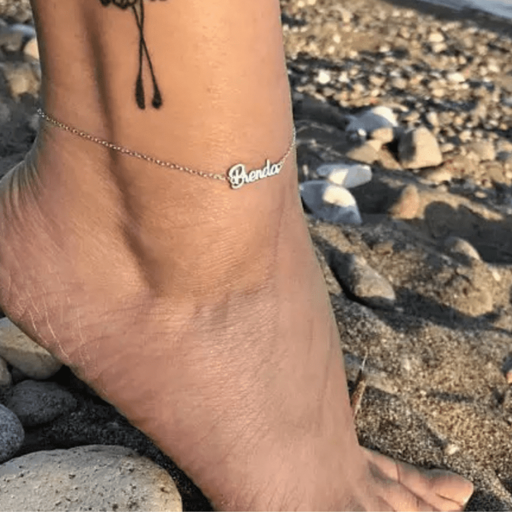 BELLA BEAUTIFUL | PERSONALIZED ANKLET