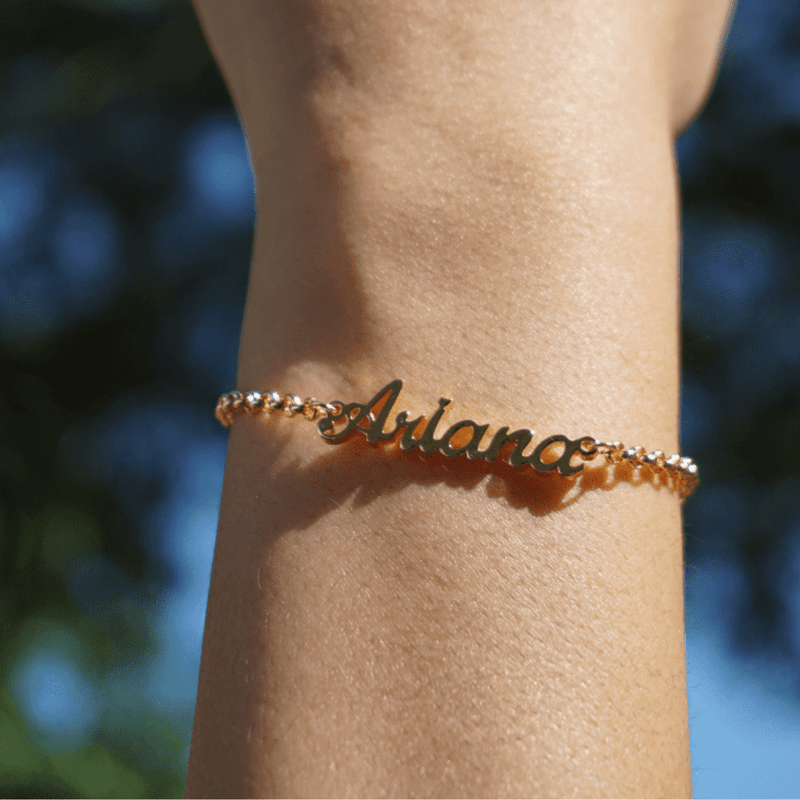 A FOREVER THING | PERSONALIZED NAME BRACELET