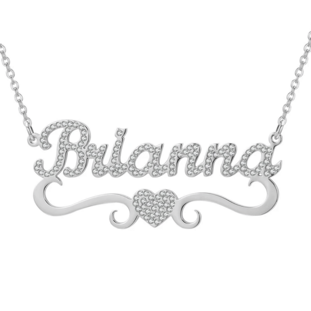 ICED CUSTOM NAME NECKLACE