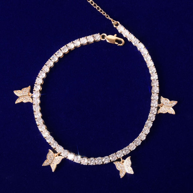 MEGAN BUTTERFLY ANKLET