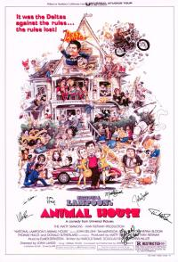 Animal House Hand Signed Poster