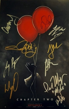 It : Chapter Two Autographed Movie Poster